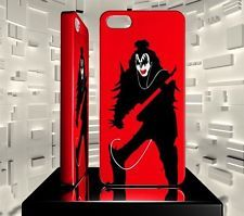 Hard Case for iPhone 5 5S 5C IPH05 027 001 037 SILHOUETTE KISS MUSIC BAND