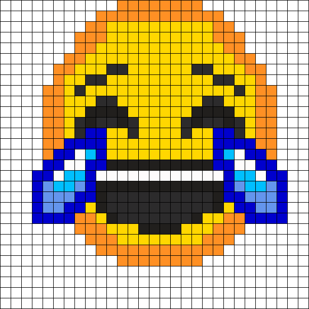 laughing emoji perler bead pattern perler mille pinterest h keln b gelperlen og c2c h keln. Black Bedroom Furniture Sets. Home Design Ideas