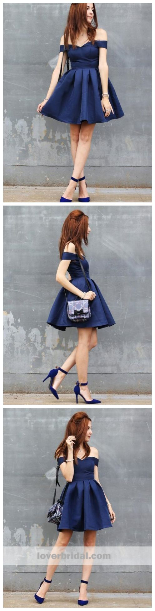Off shoulder simple cheap short homecoming dresses online cm in