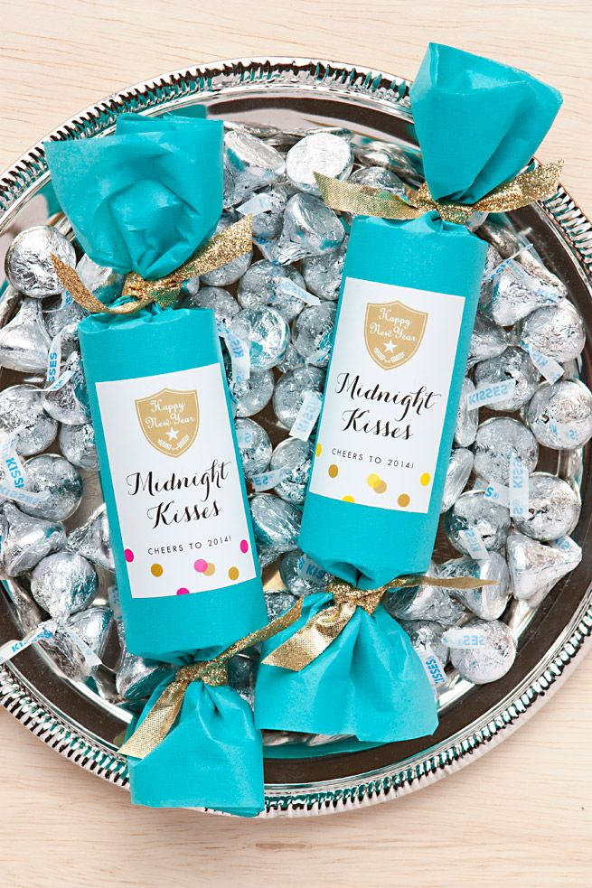 New Year\u0027s Eve Party Favors Midnight Kisses Midnight kisses