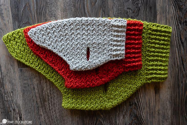 Dandy Dog Sweater: Easy Crochet Dog Sweater Pattern