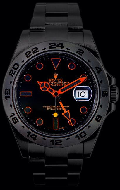 Black Venom Rolex Explorer II | Watches for men, Luxury