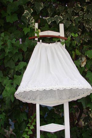Como hacer un cancan para vestido corto