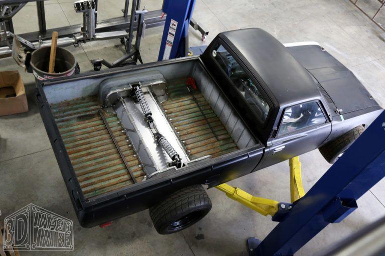 1973 Datsun 620 Truck With A Twin Turbo 1uz V8 Datsun Cantilever Suspension Twin Turbo