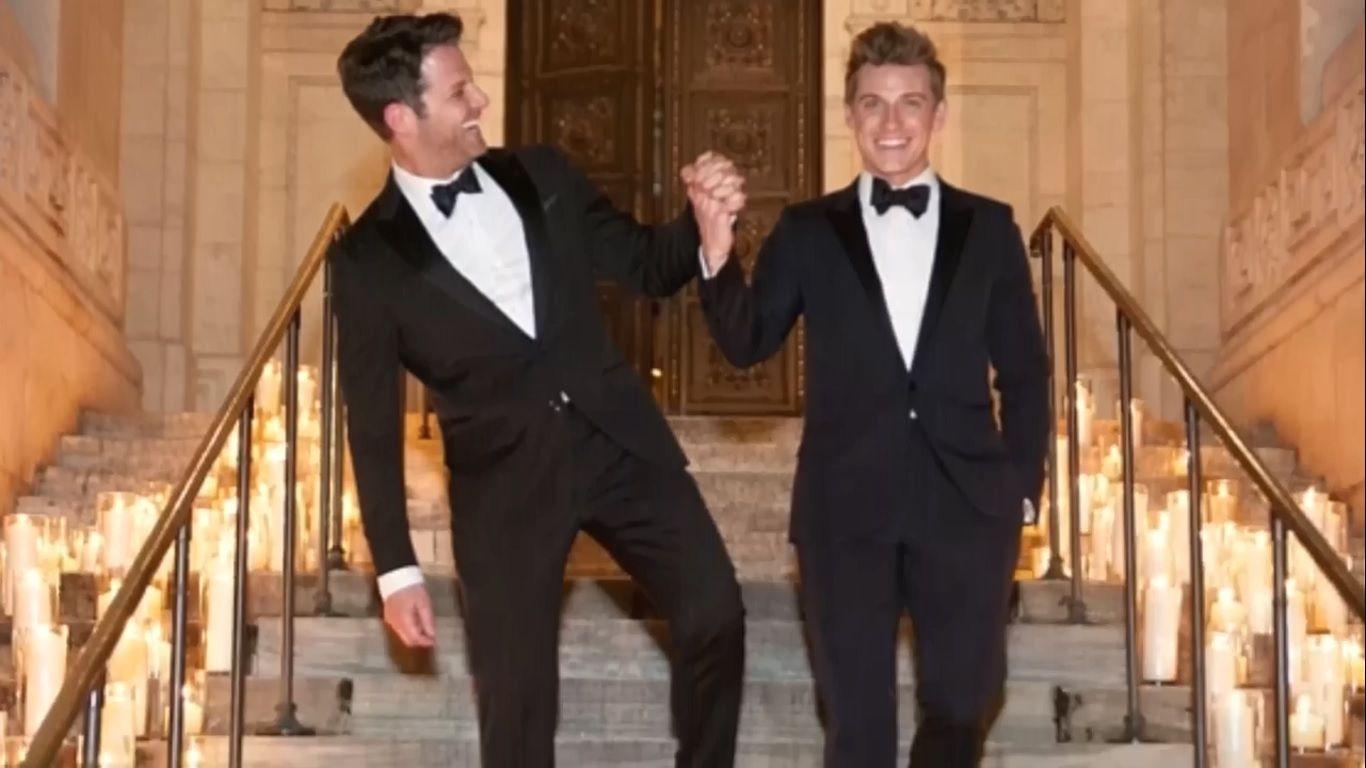 Nate And Jeremiah Wedding Ceremony Pictures Nate Berkus Wedding