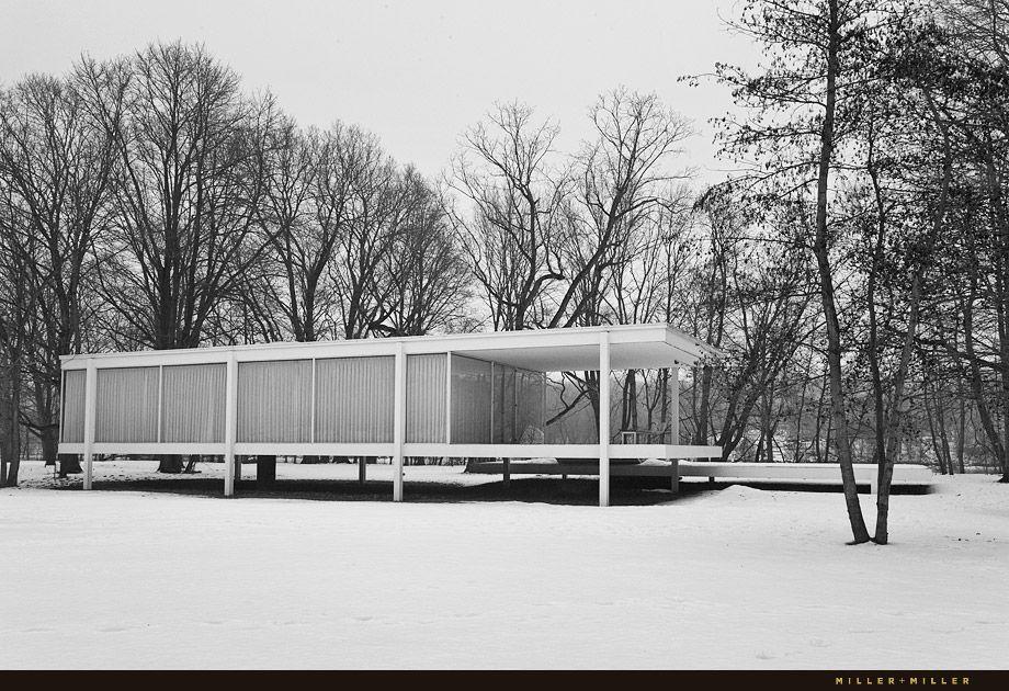 farnsworth house miles van der rohe pinterest houses and farnsworth house. Black Bedroom Furniture Sets. Home Design Ideas