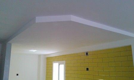 C mo hacer falsos techos de pladur para la casa pinterest falso techo techos falso - Como hacer un falso techo ...