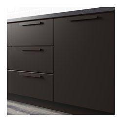 kungsbacka door anthracite k che. Black Bedroom Furniture Sets. Home Design Ideas