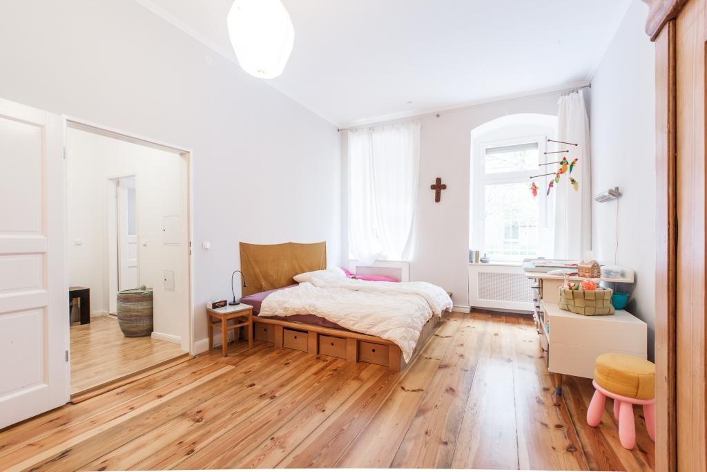 Ein schönes, leicht verspieltes Schlafzimmer! Durch die großen - schöne schlafzimmer ideen