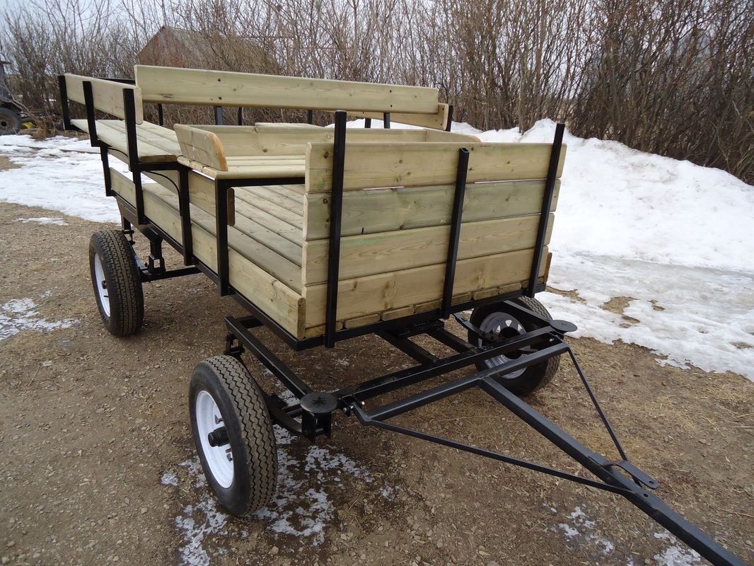 Wagonette  13`` Wheels  Fifth Wheel  8` Long $270000