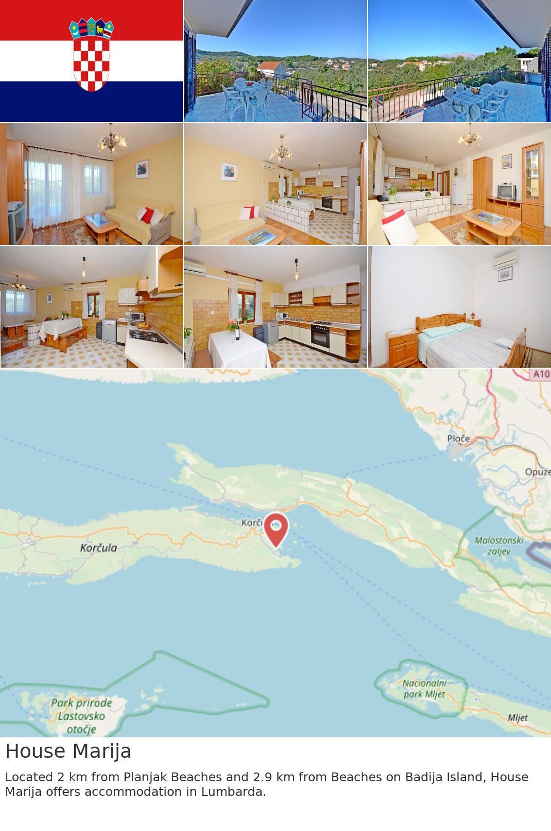 Europe Croatia Lumbarda House Marija Located 2 Km From Planjak Beaches And 2 9 Km From Beaches On Badija Island House Marija Offers Accommodation In Lumbar S Izobrazheniyami
