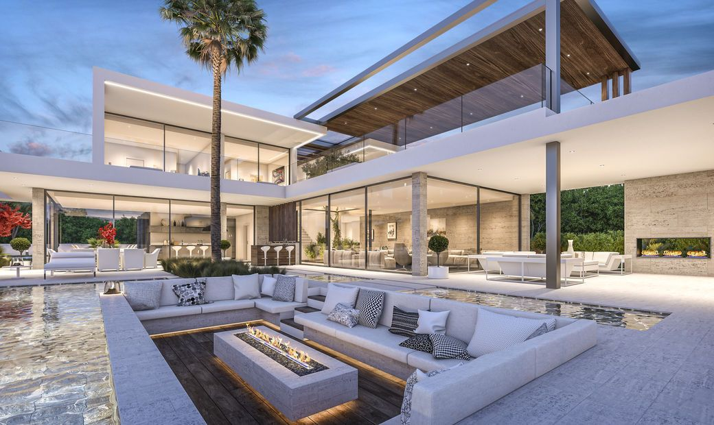 New modern luxury villa project in marbella spain in for Sale moderne