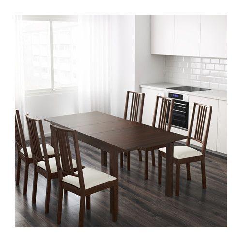 BJURSTA Mesa extensible - marrón - IKEA | Home decor | Pinterest ...