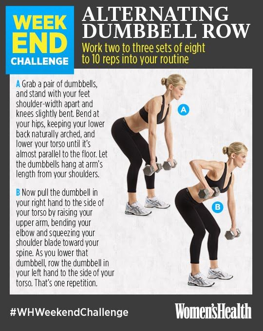 Sculpt Your Upper Body This Weekend Womenshealthmag Fitness Workout Challenge