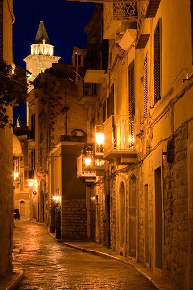 The Glow of Dusk, Trani, Italy