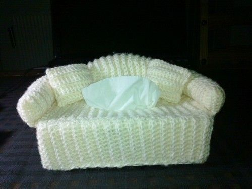 Tissue sofa - Categorie: Haken - Hobbyjournaal uw hobby website