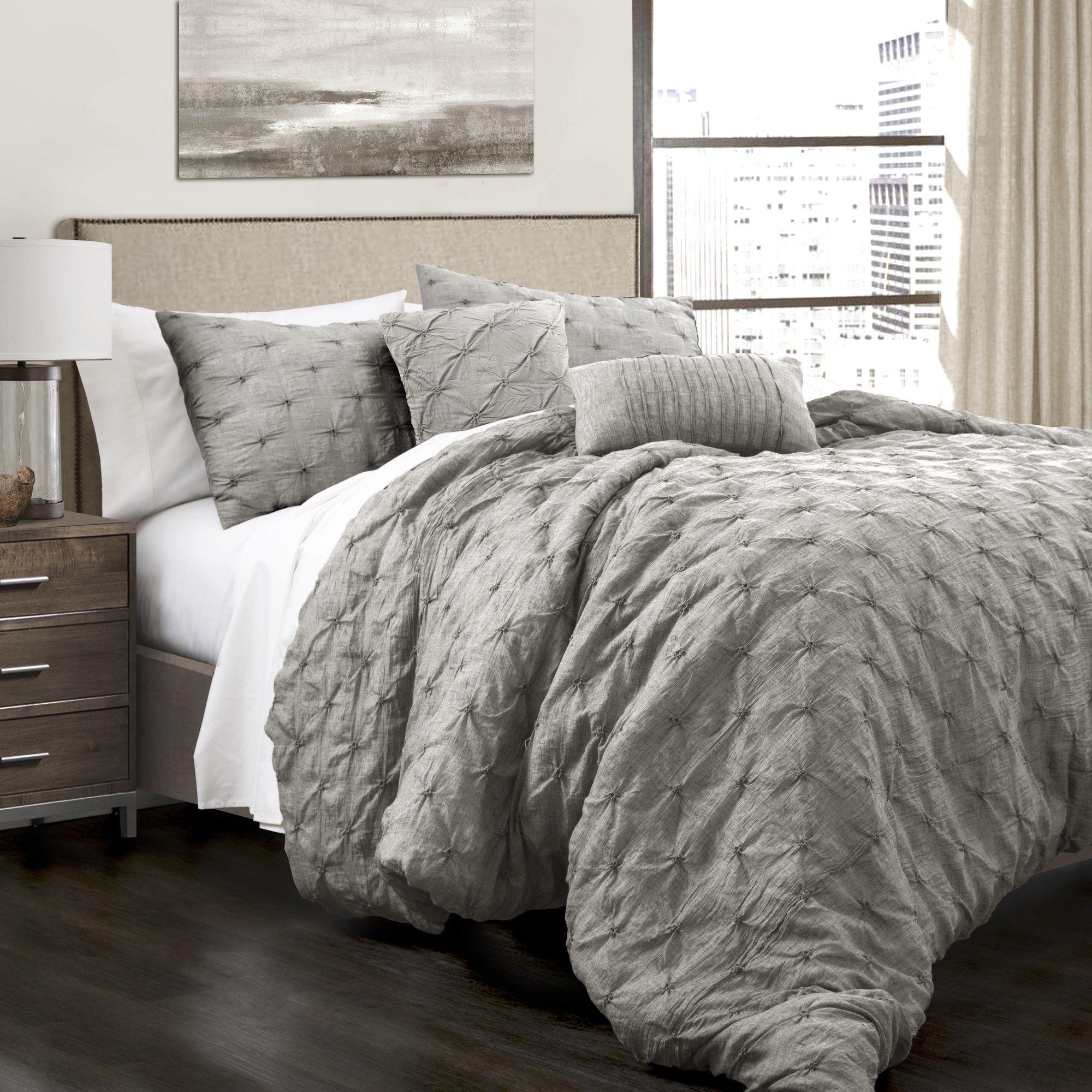 Customer Image Zoomed 134 All Modern Comforter Sets King Comforter Sets Pintuck Comforter