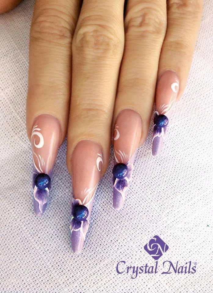 crystalnails ngel nagelstudio nailart muster gelngel babyboomer nagelstudiowien - Nailart Muster