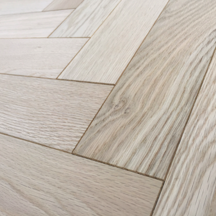 Unfinished Oak Engineered Herringbone Parquet Wood Flooring Avail Be In 3 Diffe Grades Rustic Clic Select Supply And
