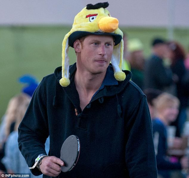 Prince Harry Wears Angry Birds Hat At WOMAD Music Festival In Break From 2012 London Olympics  Want to wear such a hat ==>http://www.bigbigeye.com/angry-birds-hat-p-566.html