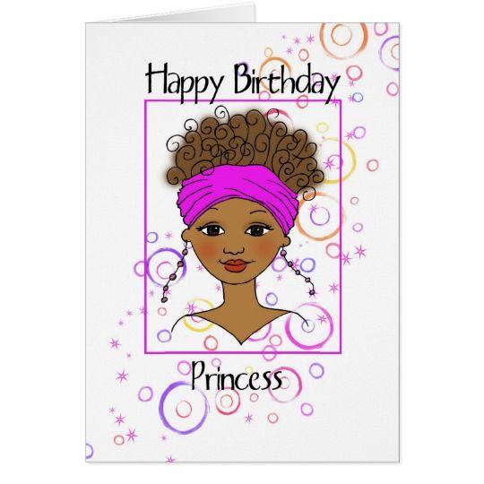Happy Birthday Princess Card Zazzle Com With Images Happy