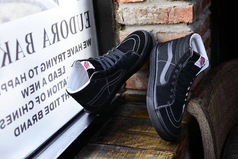 56c48375681 Authentic Van SK8 Hi Black Samurai High Top Vans For Sale  Vans ...