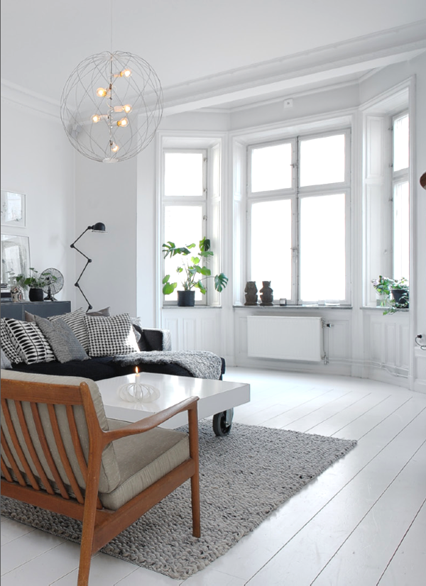 woonkamer-witte-vloer - How my house might look | Pinterest ...