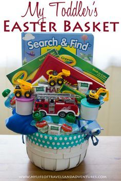 Inside my toddlers easter basket easter baskets easter and inside my toddlers easter basket negle Image collections