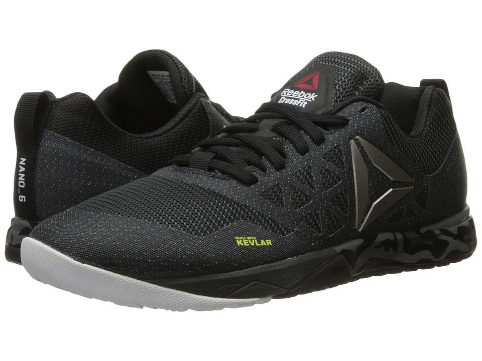 REEBOK REEBOK - CROSSFIT(R) NANO 6.0 (GRAVEL BLACK WHITE PEWTER) MEN S  CROSS TRAINING SHOES.  reebok  shoes   fa2a9d2bc