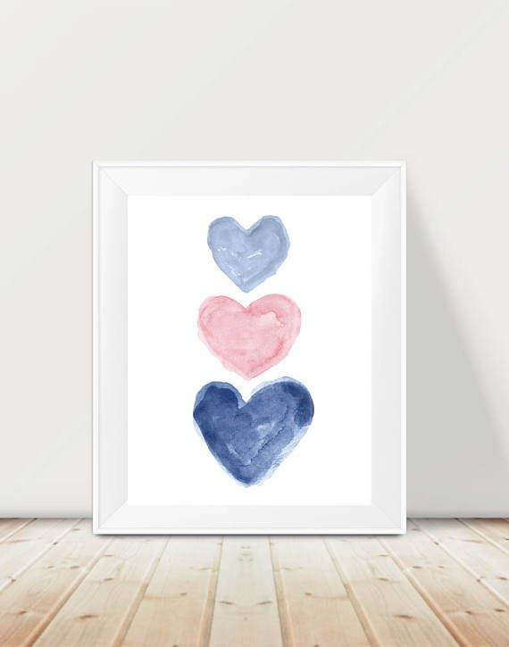 Pink And Navy Wall Decor Pale Pink And Navy Girls Decor Navy Pink Nursery Decor Pink Playroom Blue And Pink Bedroom