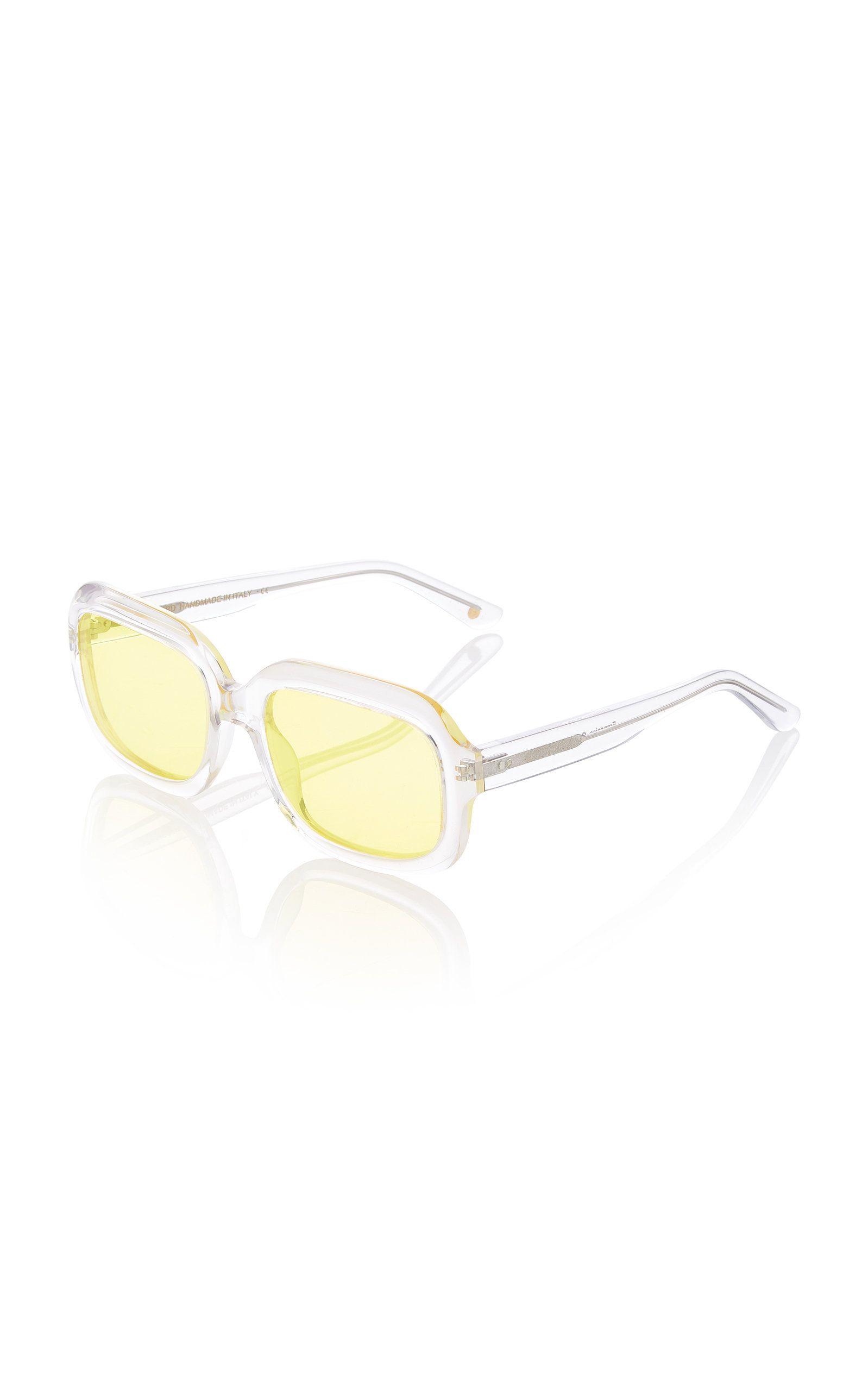 Or Horn Round Lapima Oversized SunglassesShaded Carlota Frame ChtBsQrdx
