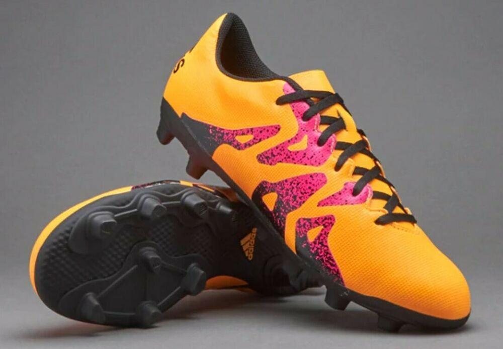 official photos 26161 322d7 adidas Men's X 15.4 FG Flexible Ground Solar Gold Soccer ...