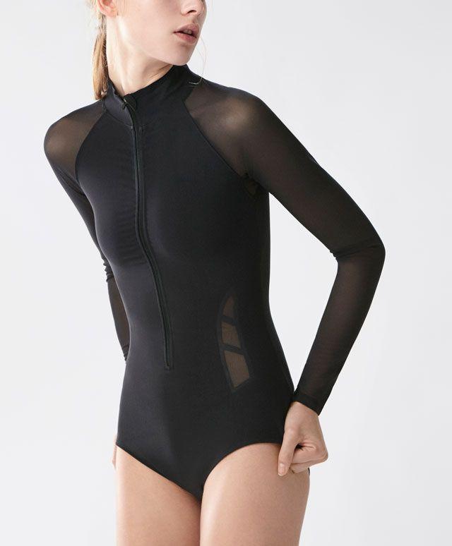 05578da052 Body técnico - Novedades - Primavera Verano 2017 moda de mujer en Oysho  online  ropa interior