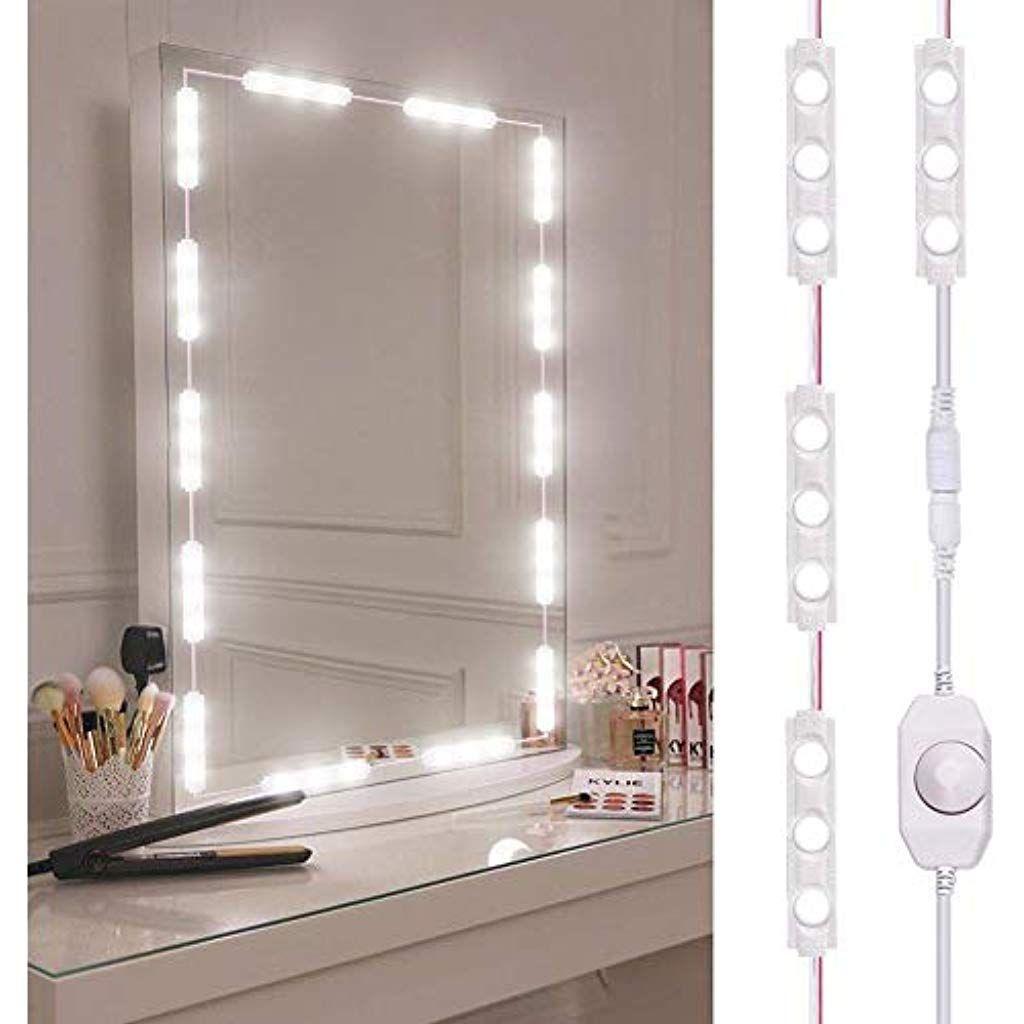 Knowledgi Led Spiegelleuchte Dimmbar Spiegel Beleuchtung Mit 60 Leds 10ft Lange Make Up Licht In 2020 Beleuchteter Kosmetikspiegel Beleuchteter Spiegel Schminkspiegel