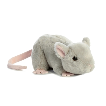 Can You Wash Stuffed Animals That Say Surface Wash Only Little Cheddar The Stuffed Mouse Mini Flopsie By Aurora Animal Plush Toys Toys Plush Stuffed Animals
