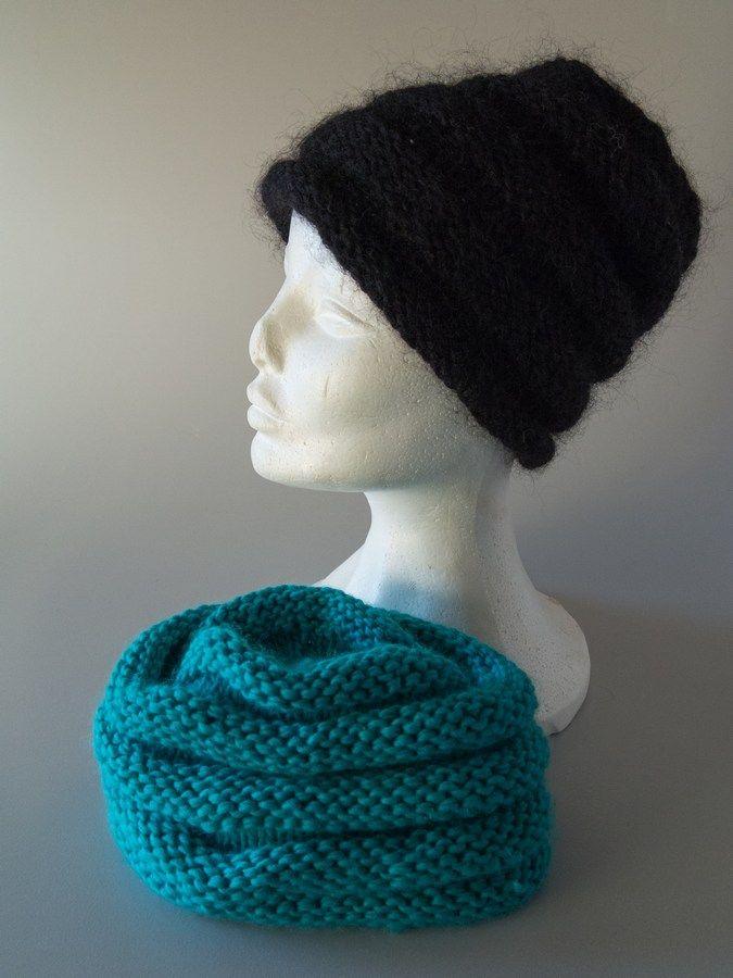 6d917217e56 hat med rillemønster gratis opskrift strik | knitting g | Strik ...