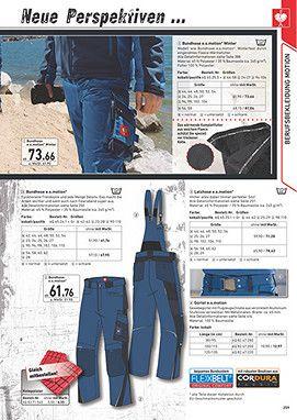 strauss work trousers