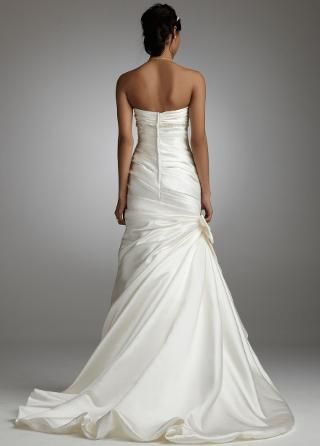 Back of the affordable dress