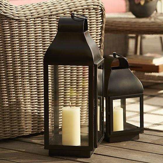 Martina large lantern crate and barrel home extras pinterest outdoor string lighting martina large lantern crate and barrel aloadofball Choice Image