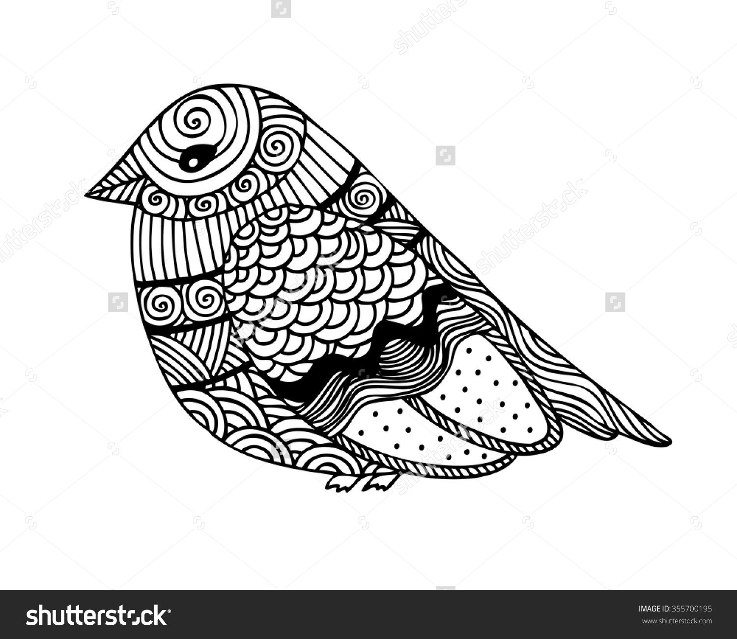 Adult Coloring Pages Sparrows