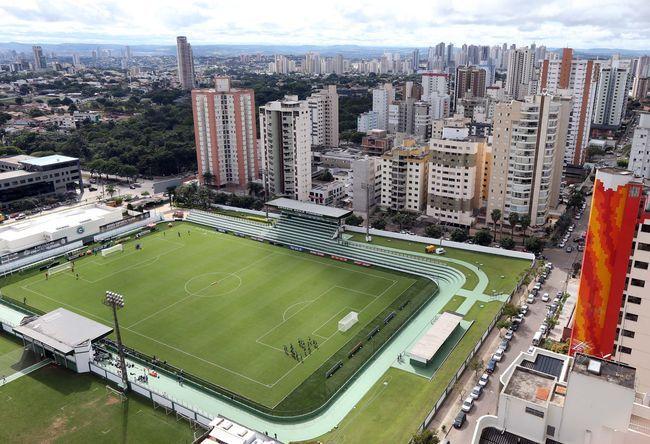 Campo do Goiás (Serrinha) no Setor Bela Vista em Goiânia - Goiás - Brasil |  Soccer field, Stadium, Baseball field