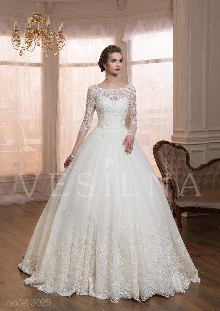 c3c87c298ec404e Коллекция «VICTORIA»: Свадебное платье, модель 3029 от Vesilna™ — заказать  на сайте или купить в салоне партнёра фото | свадебное in 2019 | Свадебные  платья ...