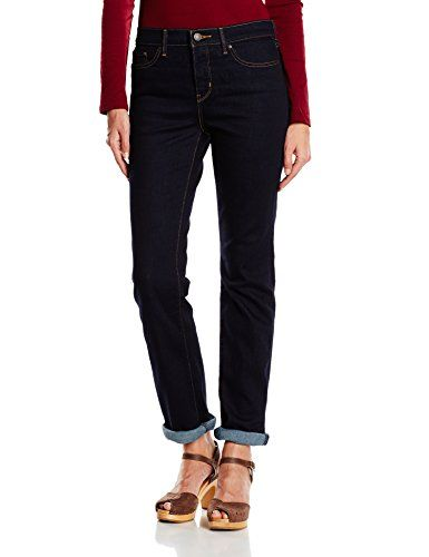 Levi's Women's 314 Shaping Straight Jeans, Blue (Splash Blue), 25W x 32L