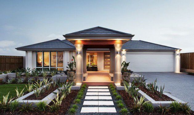 Asian Contemporary House Exterior Design Trendecors