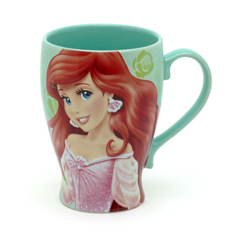 Disney Princess Tangled Rapunzel Dress design Mug Cup Disney Store Japan Limited