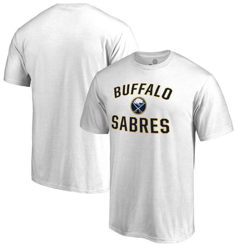 628b2b676 Buffalo Sabres Fanatics Branded Big   Tall Victory Arch T-Shirt - White