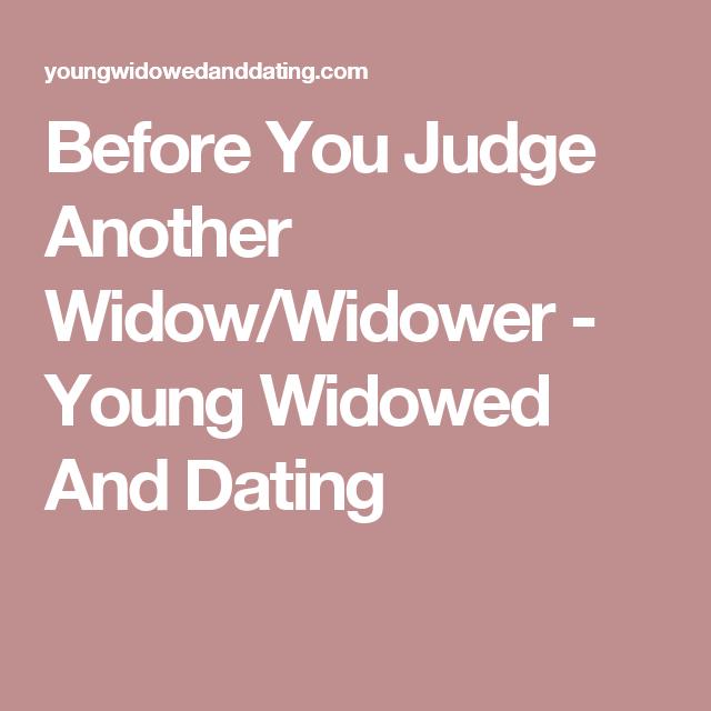 widow dating tips
