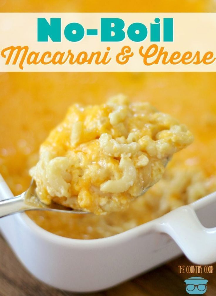 No Boil Homemade Macaroni And Cheese Recipe Macaroni