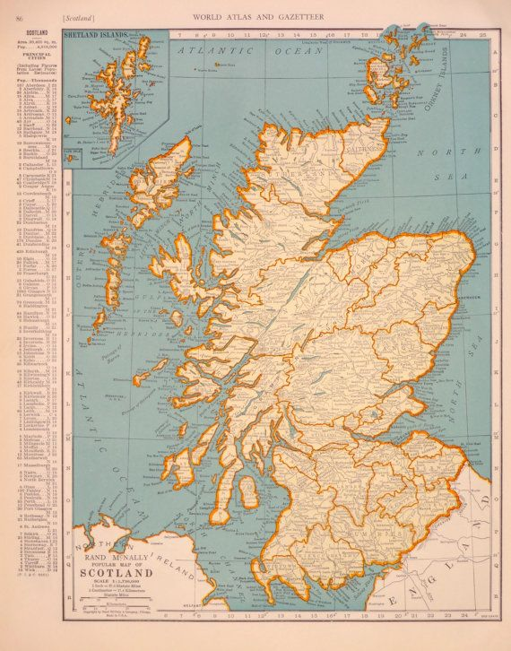 1939 scotland atlas map genealogy and ancestry 1939 scotland atlas map gumiabroncs Image collections