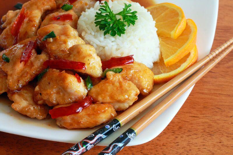 BEST Chinese Orange Chicken